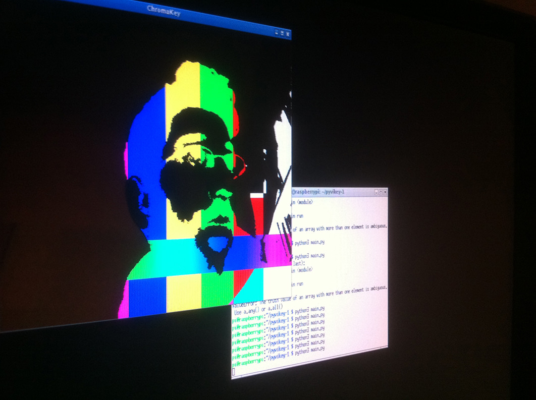 RPI Chroma key test