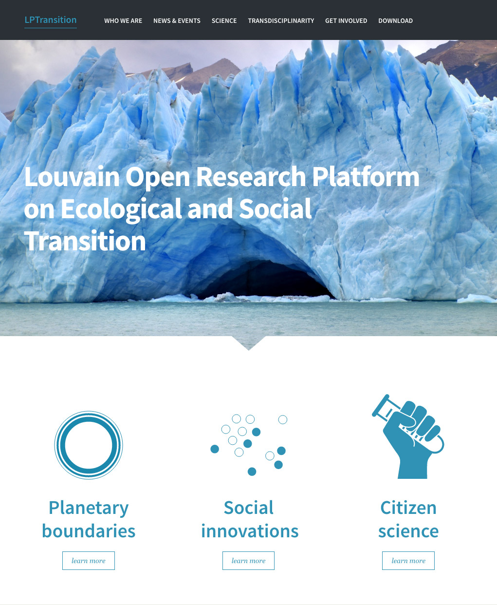 Louvain Partnership Research on Ecological and Social Transition